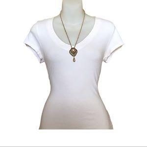 Gold Tone Vintage Necklace